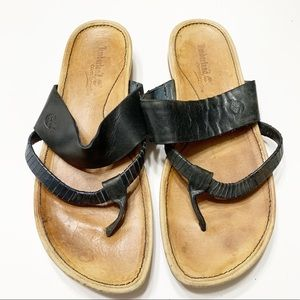 Timberland leather sandals sz 6.5